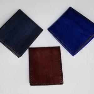 Colored Bi-fold wallet