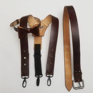 Suspender, Belt, Bow tie set