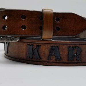 Personalized belt