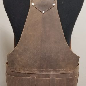 Utility Leather Tool Vest